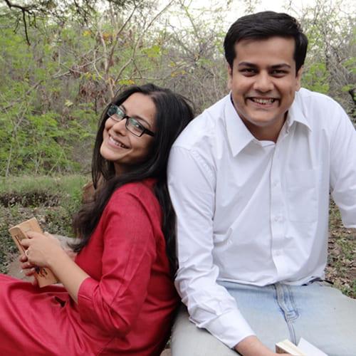 Saurav and Devpriya Jha